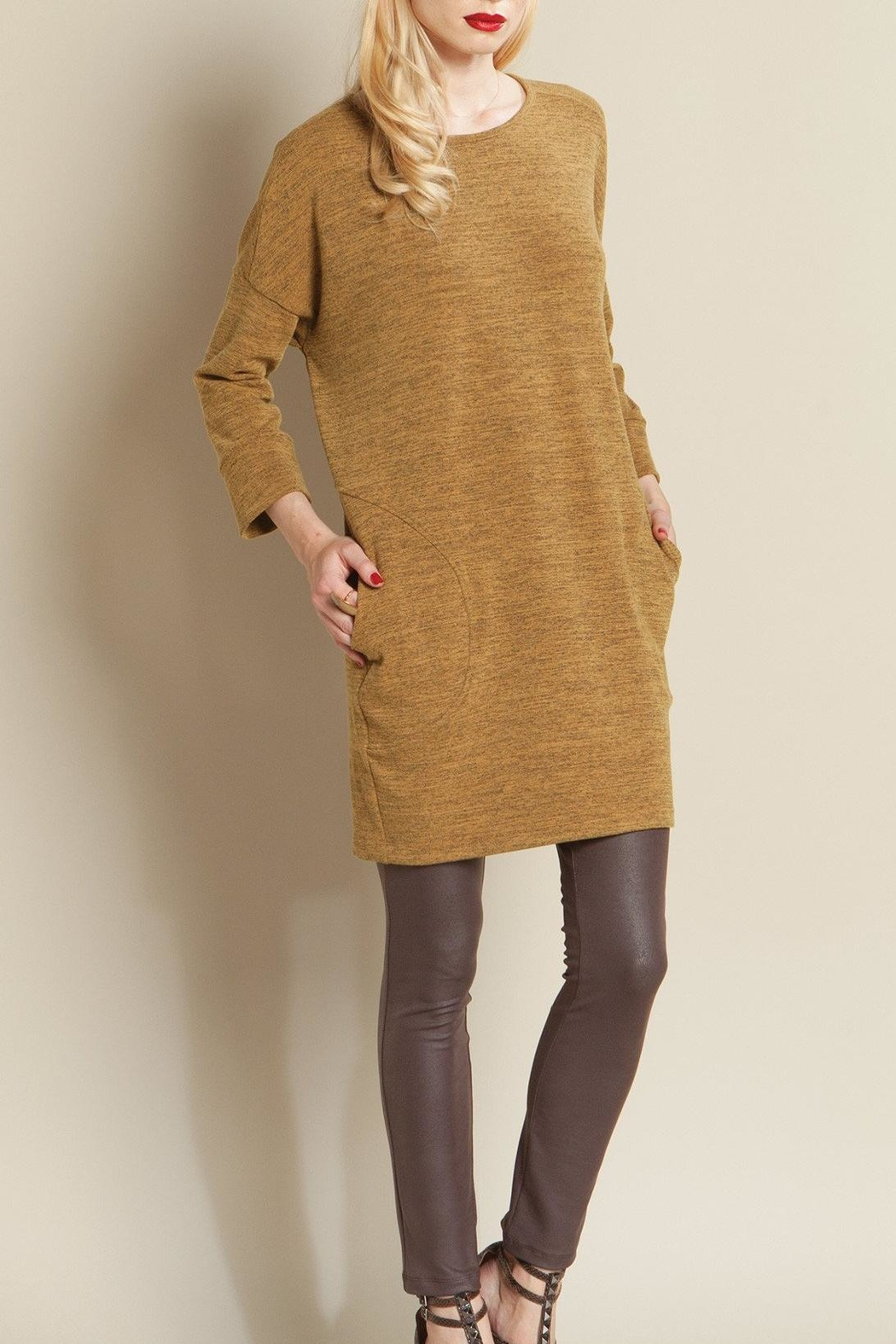 Clara Sunwoo Pocket Sweater Tunic from Texas by The Crazy Peacock ...