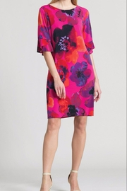 Clara Sunwoo Poppy-Print Back-Tie Dress - Product Mini Image