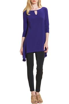 Shoptiques Product: Purple Keyhole Tunic