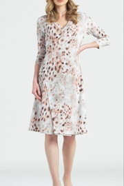 Clara Sunwoo Python Wrap Dress - Product Mini Image