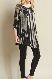 Clara Sunwoo Ribbon Print Tunic - Product Mini Image