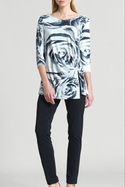 Clara Sunwoo Rose Print Tunic - Product Mini Image