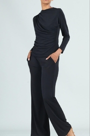 Clara Sunwoo Ruched Drape Top - Front cropped