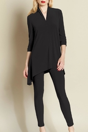 Clara Sunwoo Ruched Sleeve Tunic - Front cropped