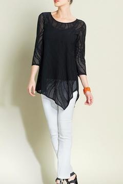Shoptiques Product: Sheer Eyelet Tunic
