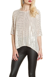 Clara Sunwoo Shimmer Sequin Top - Product Mini Image