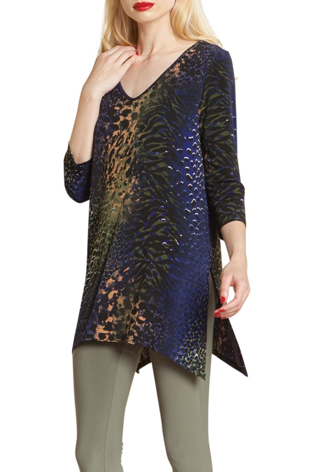 Clara Sunwoo Side Slit Tunic Top - Main Image