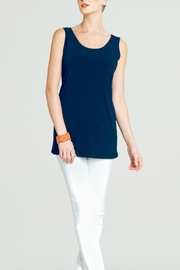 Clara Sunwoo Blue Sleeveless Tunic Top - Product Mini Image