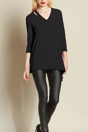 Clara Sunwoo Slit Detail Tunic - Product Mini Image