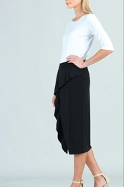 Clara Sunwoo Soft-Flow Ruffle Midi-Skirt - Product Mini Image