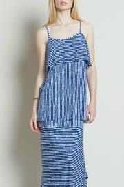 Clara Sunwoo Stripe Spaghetti Strap Top - Product Mini Image