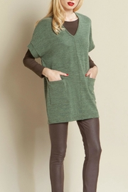 Clara Sunwoo Sweater Pocket Tunic - Product Mini Image