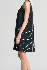 Clara Sunwoo Swirl Lines Dress - Front full body