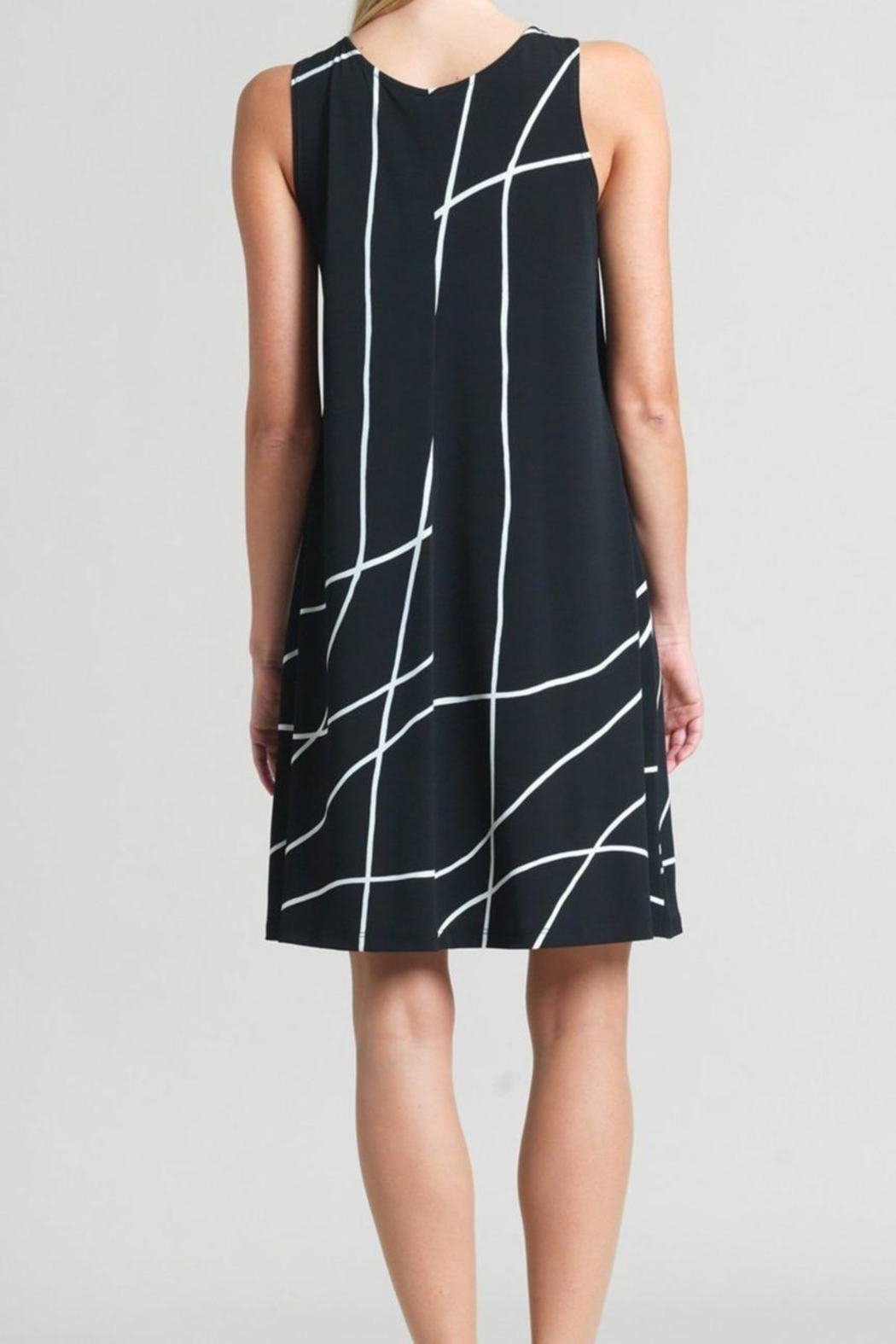 Clara Sunwoo Swirl Lines Dress - Side Cropped Image