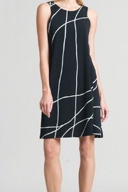 Clara Sunwoo Swirl Lines Dress - Front cropped