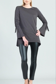 Clara Sunwoo Tunic With Ruched-Sleeve - Front cropped
