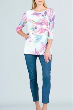 Clara Sunwoo Watercolor Floral Tunic - Product List Image