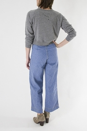 Clare V. Camp Fit Sweatshirt - Front full body