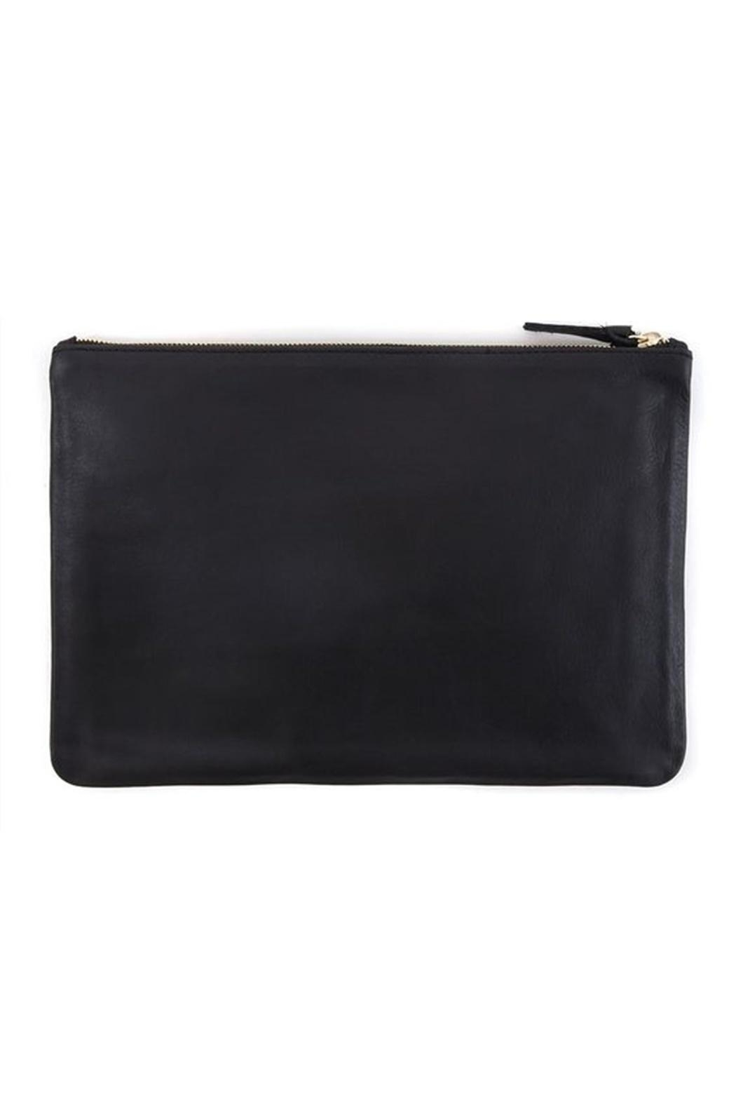 Clare V. Flat Clutch Supreme - Side Cropped Image