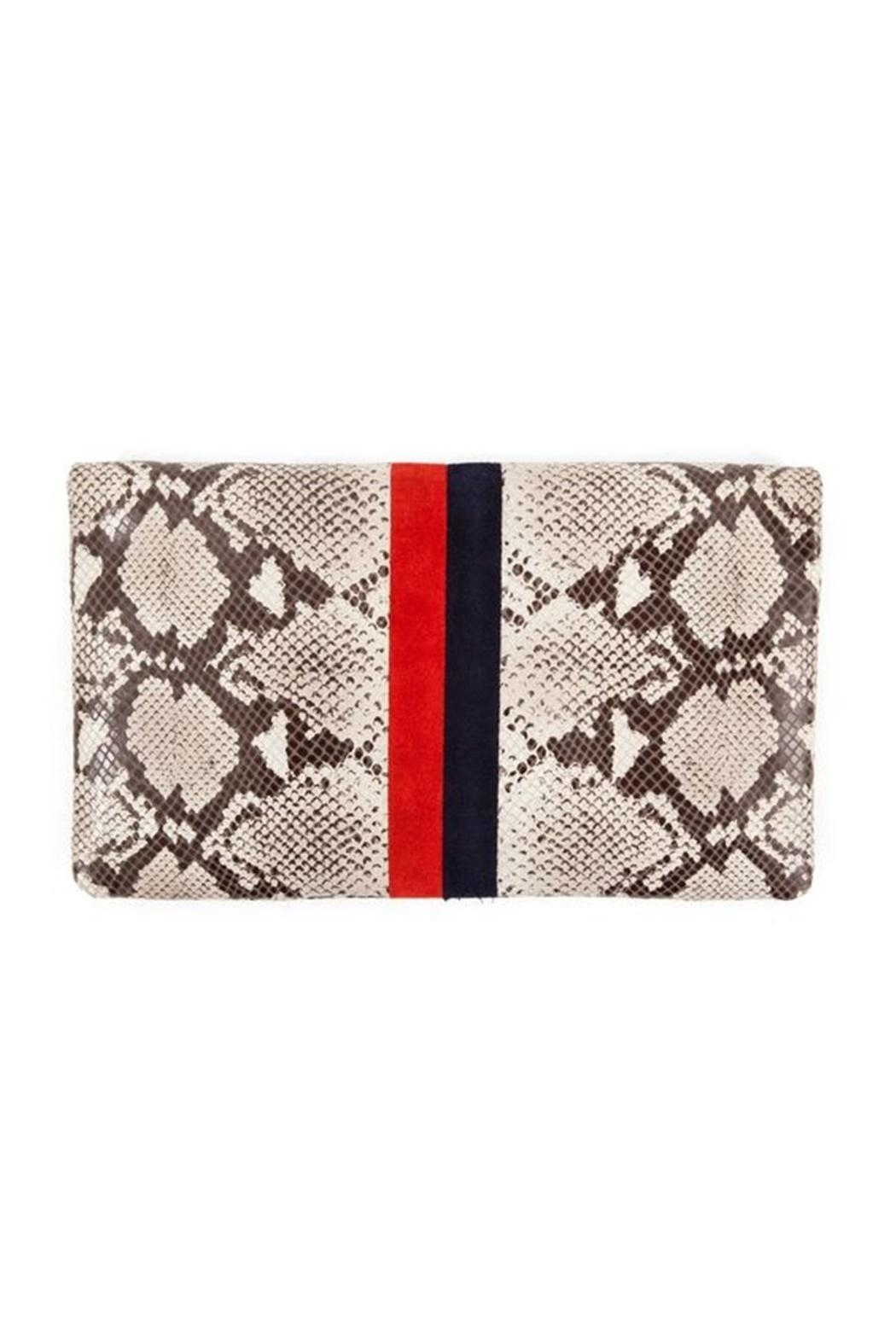 Clare V. Foldover Clutch - Front Full Image