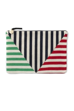 Shoptiques Product: Patchwork V Clutch