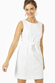 Lilly Pulitzer  Clarise Eyelet Shift - Front cropped