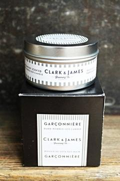 Clark and James Garçonnière Soy Candle - Alternate List Image