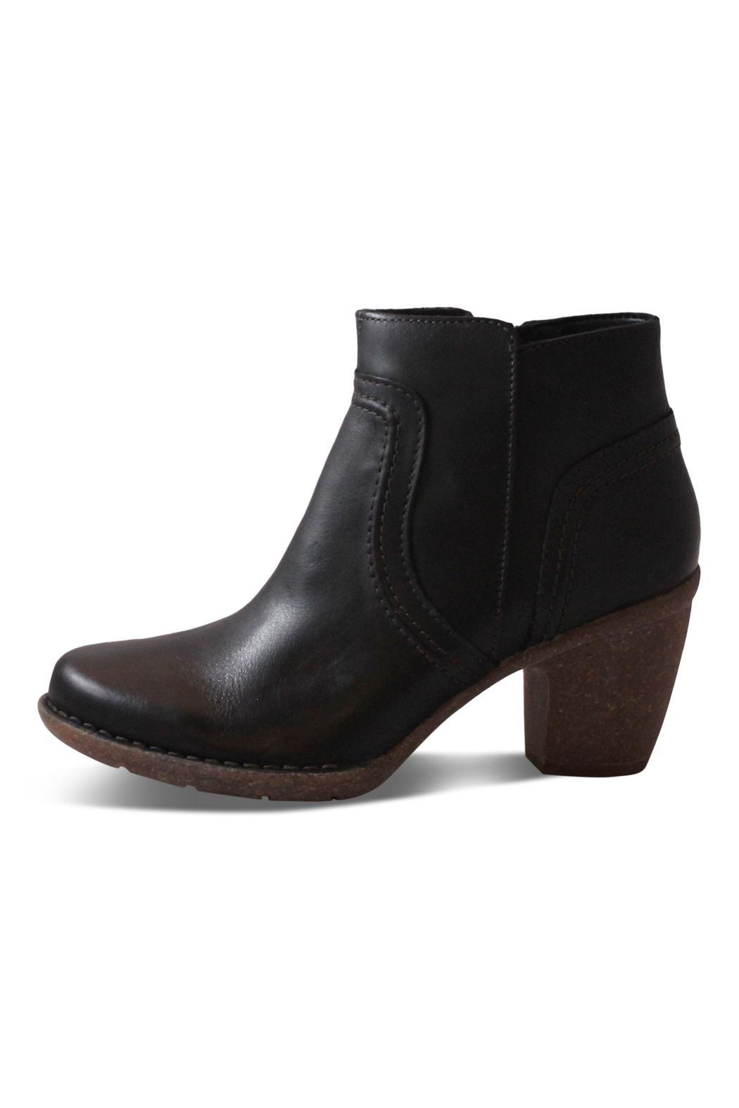 Clarks Black Ankle Boot - Main Image