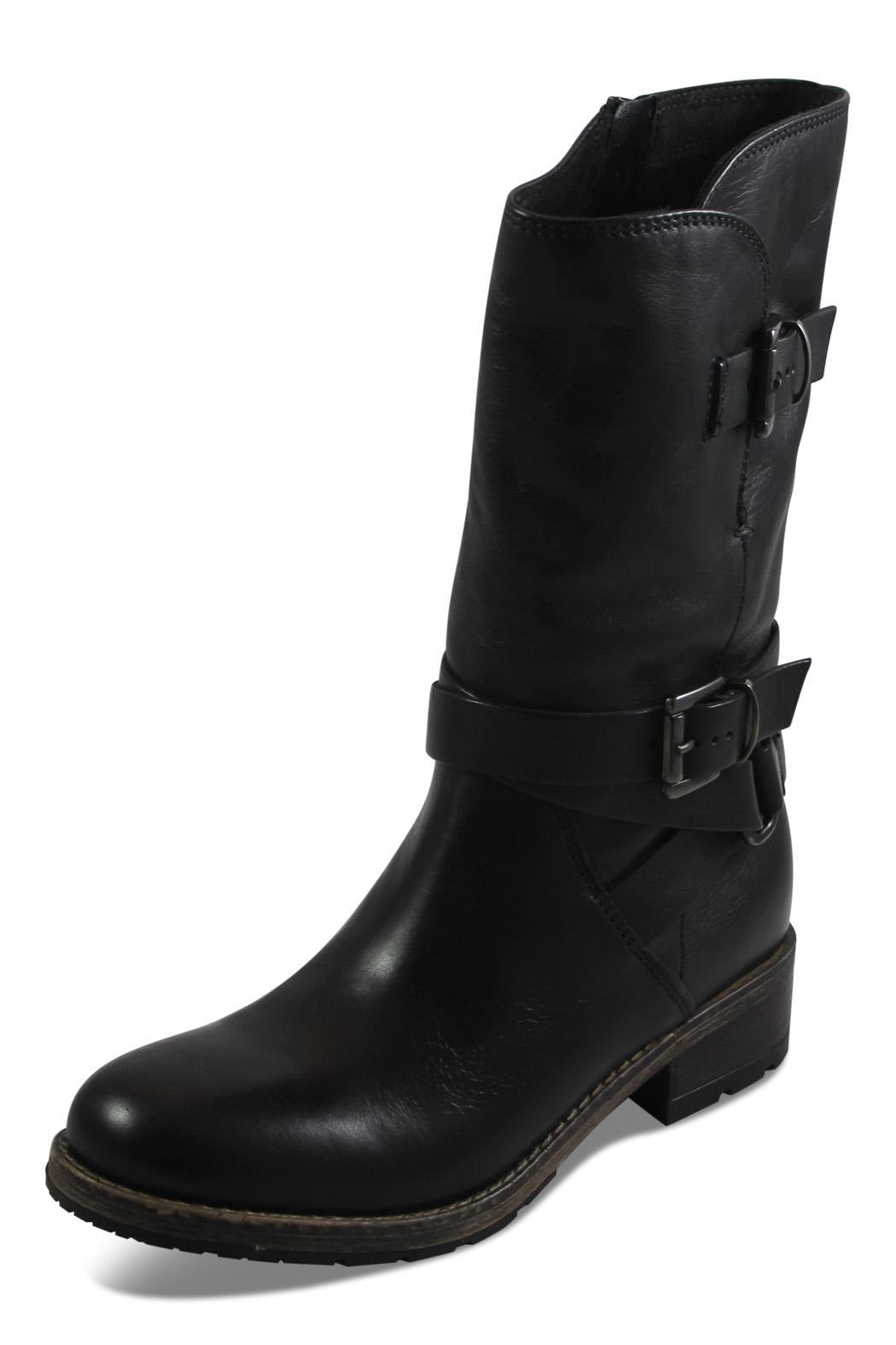 clarks black mid boot from columbia by big boot