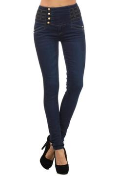 Shoptiques Product: Premium High-Waist Jeans