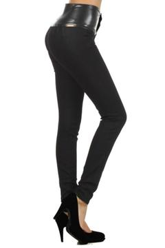 Shoptiques Product: Vegan High Waist Jeggings