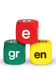 Learning Resources Class Set Phonics Cubes - Alternate List Image