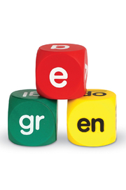 Learning Resources Class Set Phonics Cubes - Front full body