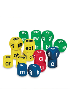 Learning Resources Class Set Phonics Cubes - Product List Image