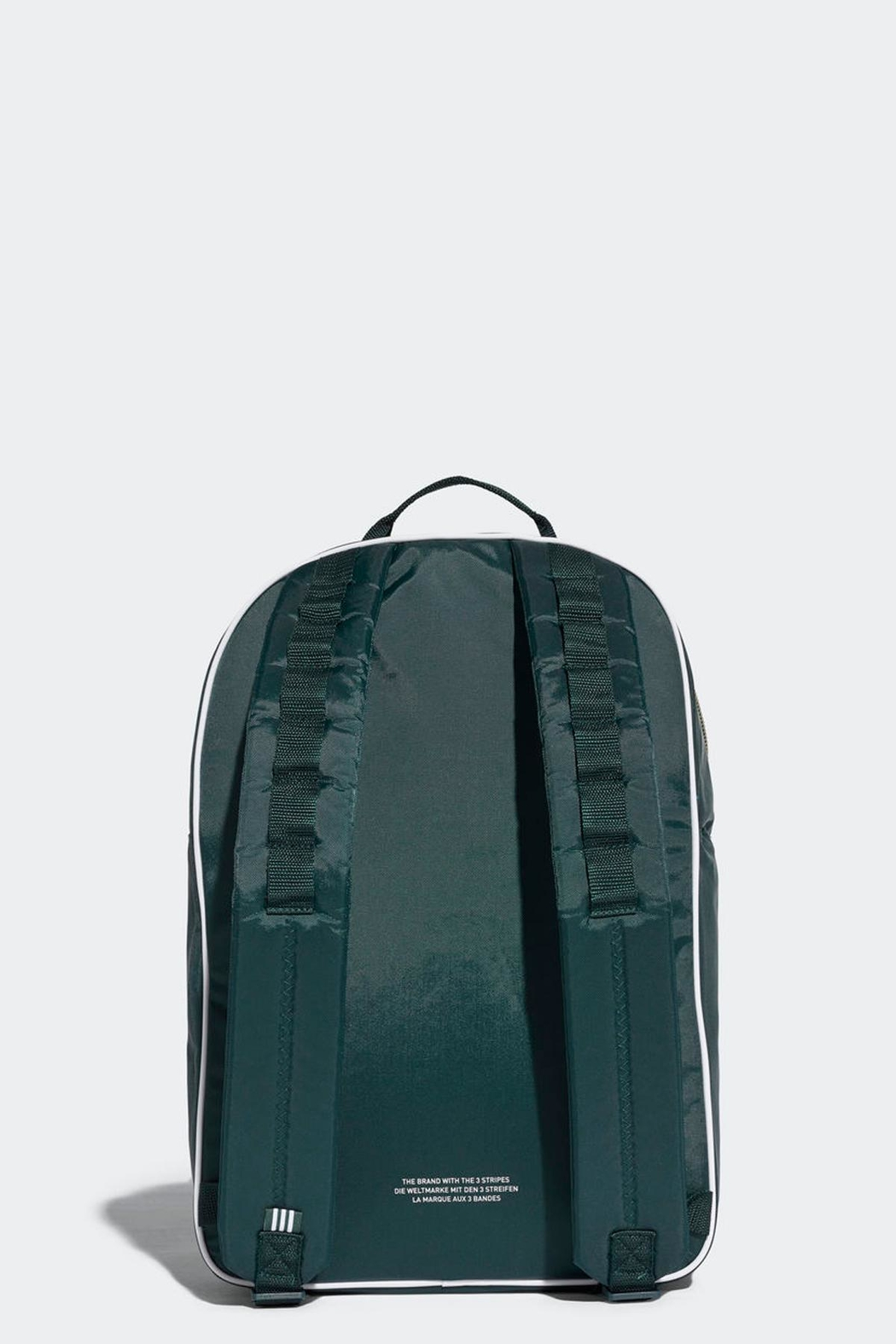 adidas Classic Backpack Green - Front Full Image