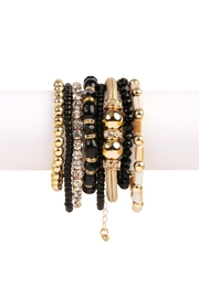 Riah Fashion Classic Bead Bracelet - Front cropped