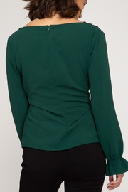 She + Sky Classic Beauty Top - Front full body