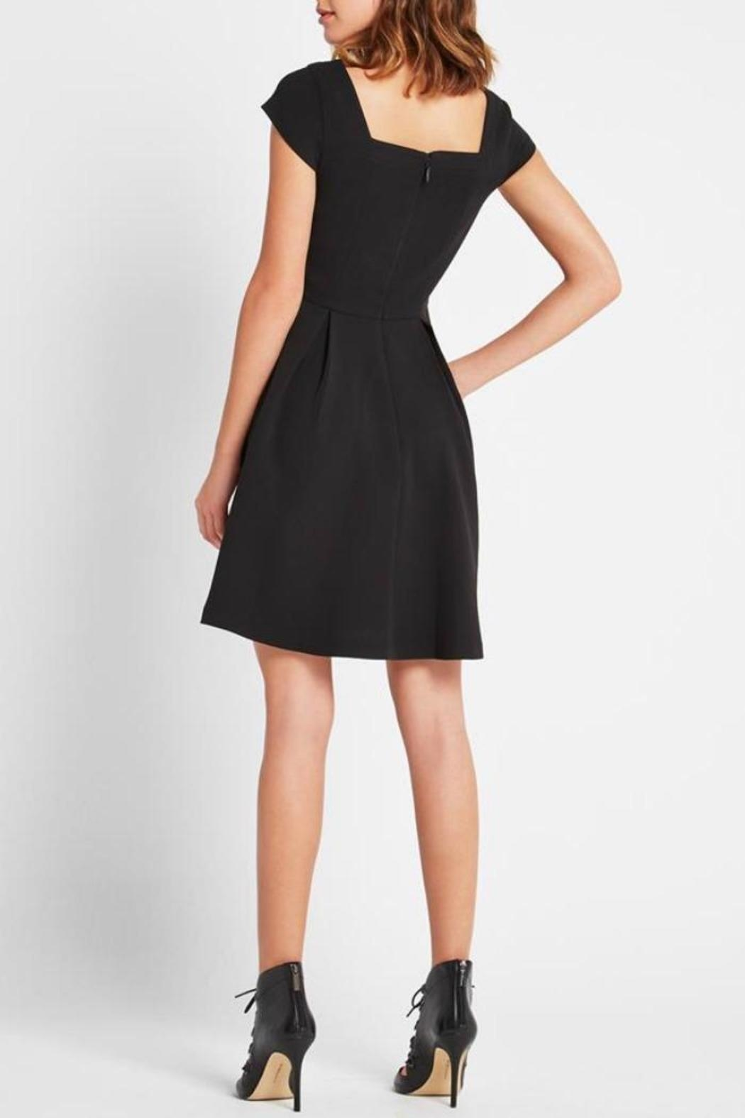 BCBGeneration Classic Black Dress - Side Cropped Image