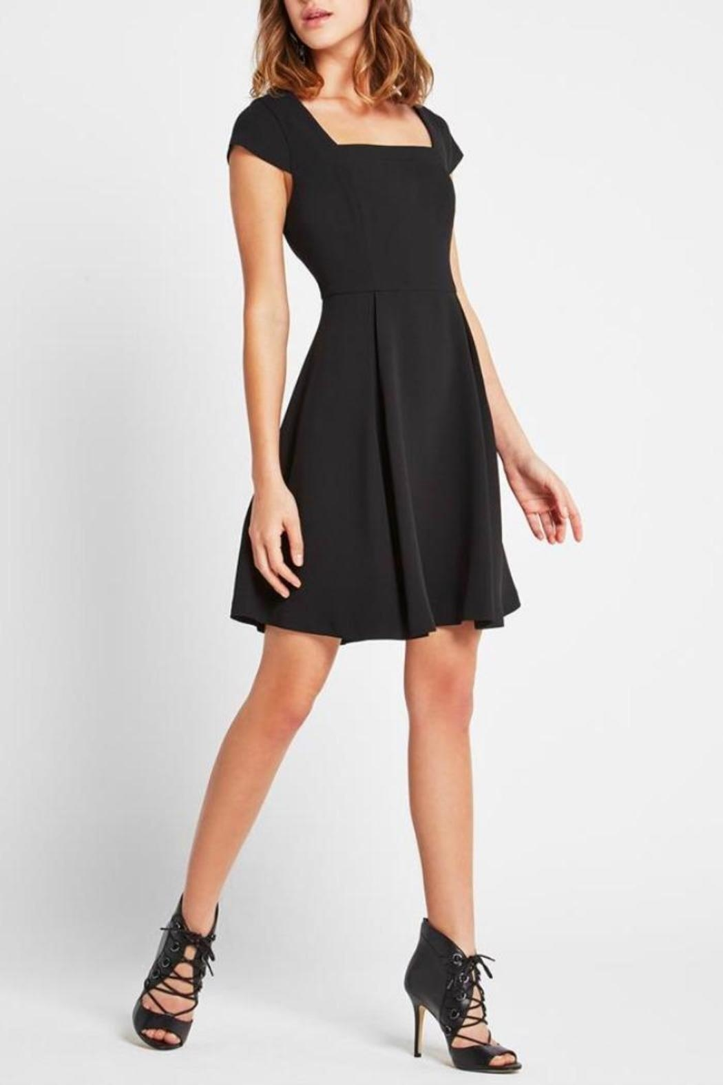 BCBGeneration Classic Black Dress - Front Full Image