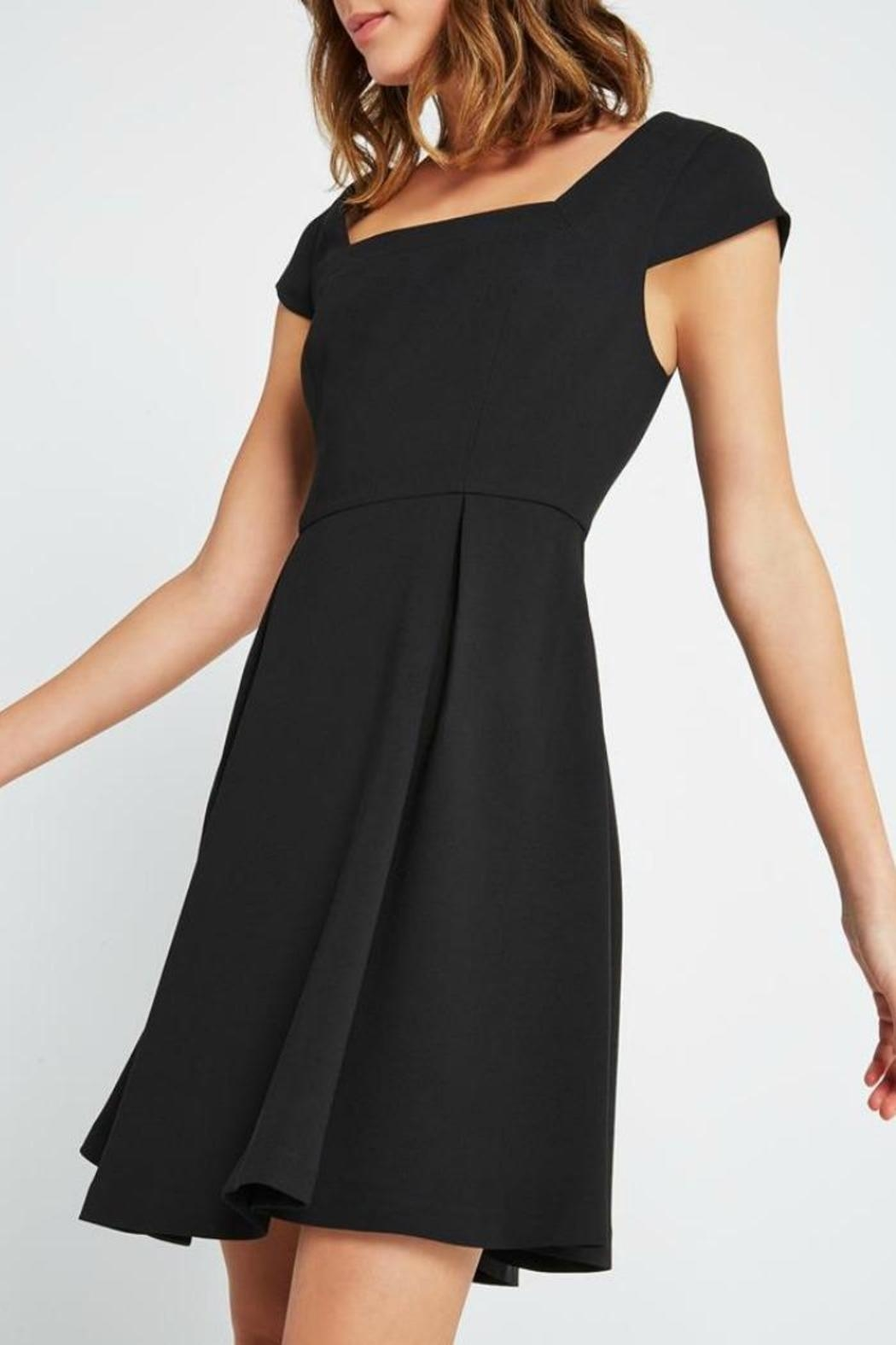 BCBGeneration Classic Black Dress - Front Cropped Image