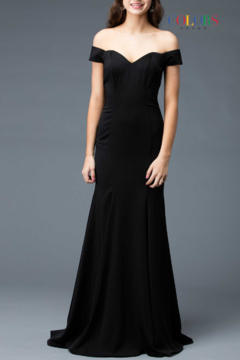 colors Classic Black Gown - Product List Image