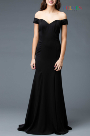 colors Classic Black Gown - Product Mini Image