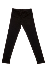 Rock Candy Classic Black Leggings - Back cropped