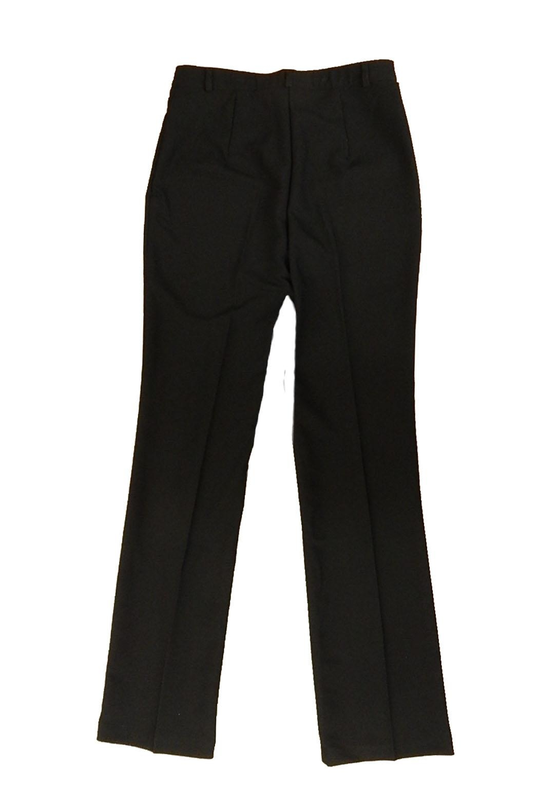 Tribal Classic Black Pants - Side Cropped Image