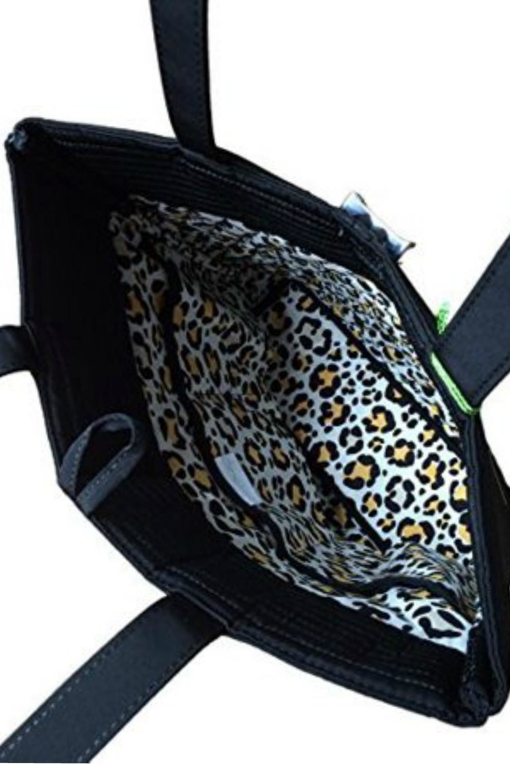 Vera Bradley Classic Black Tote - Side Cropped Image