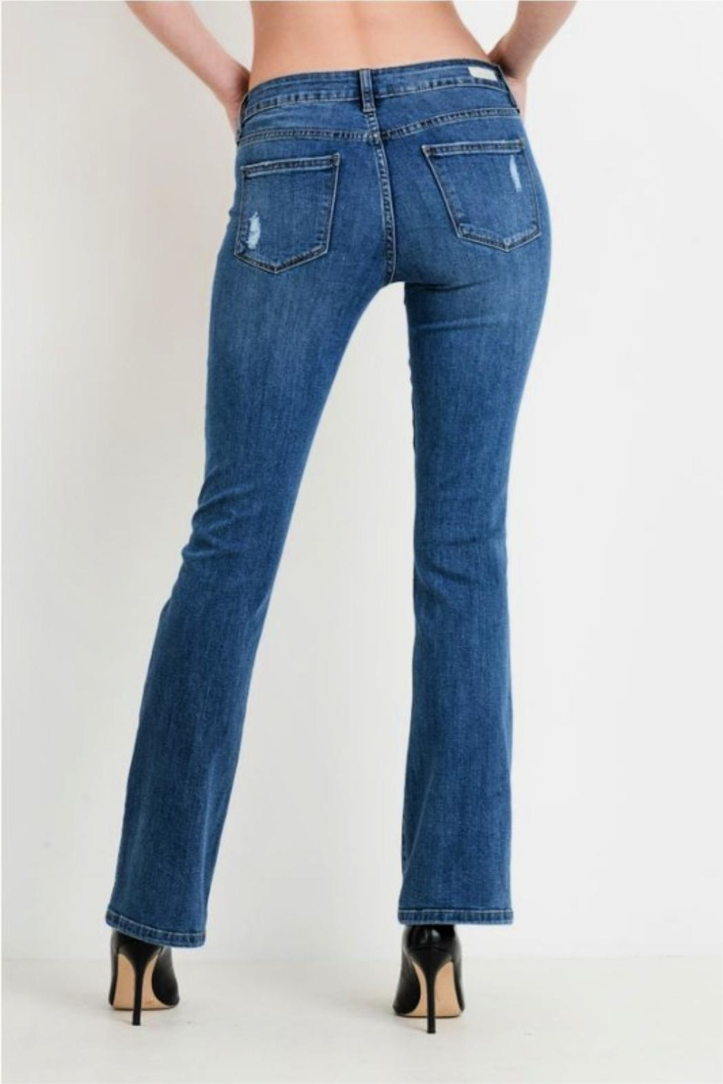Just USA Classic Bootcut Jeans - Side Cropped Image