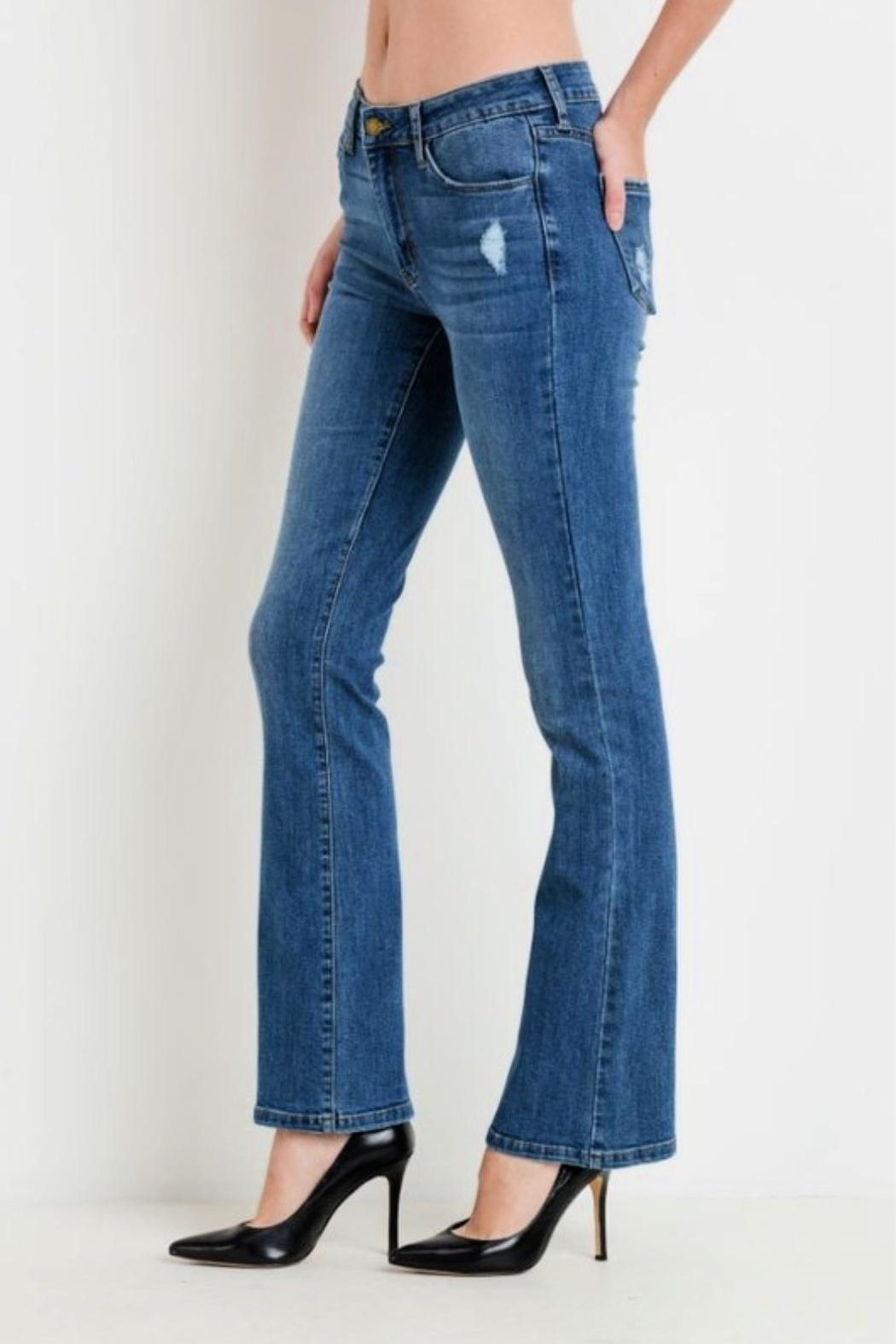 Just USA Classic Bootcut Jeans - Main Image