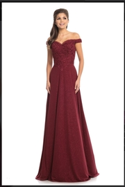 Johnathan Kayne Classic Burgundy Gown - Product Mini Image
