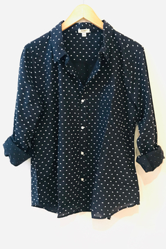 Dylan Classic Chic-Dot Blouse - Product List Image