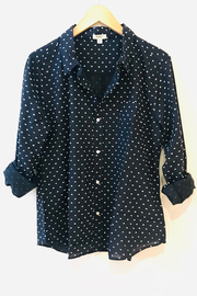 Dylan Classic Chic-Dot Blouse - Product Mini Image